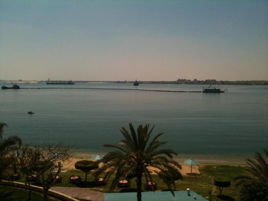 Mercure Ismailia Forsan Island: view from room