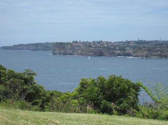 Views while hiking at Sydney Harbour National Park