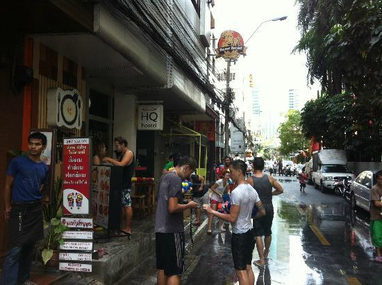 HQ Hostel Silom: Songkran 2012