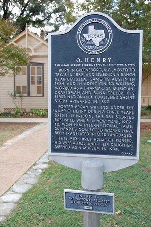 O. Henry Home & Museum