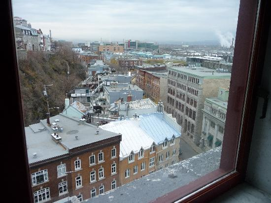 Hotel Le Germain Quebec: View from room at Dominion 1912