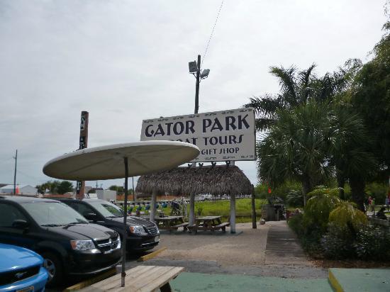Miami Tour Company : Gator Park, l'entrée