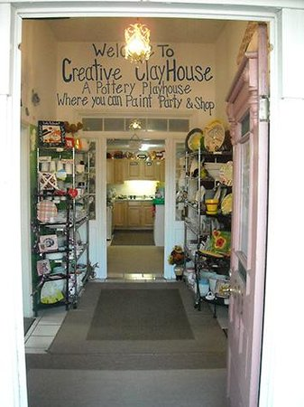 Creative clay house