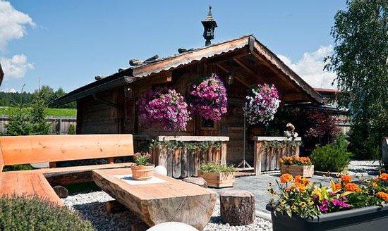 Brunico, İtalya: Almhütte