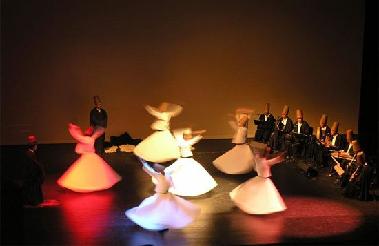 Sufi Music Concert & Whirling Dervishes Ceremony