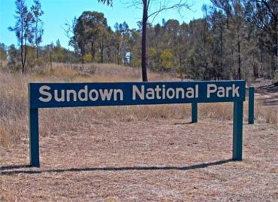 Sundown National Park Foto