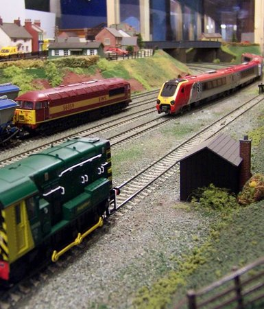 Tiverton, UK: Our model railways