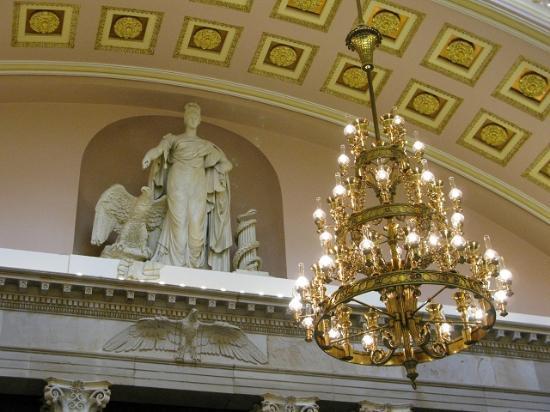 U.S. Capitol Visitor Center: Statuary Hall - Dezember 2011