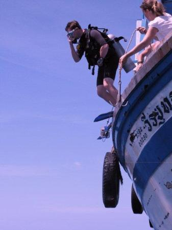 Bans Divemasters In Training Bild