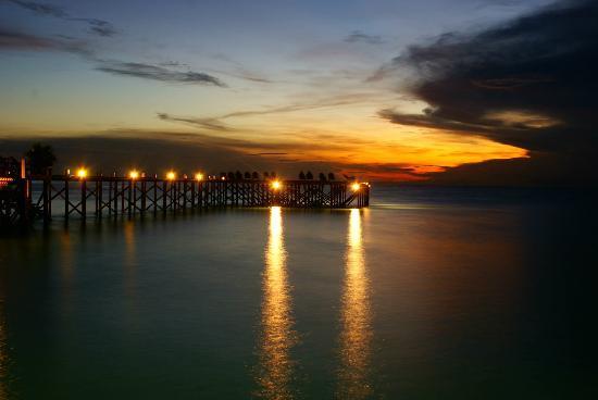 Sipadan Kapalai Dive Resort : night time