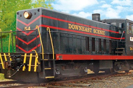 Foto de Downeast Scenic Railroad