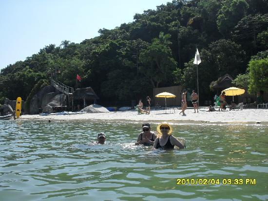 Parque Ambiental Familia Schurmann: playa