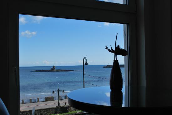 Ellan Vannin Metro Hotel: View from room 12