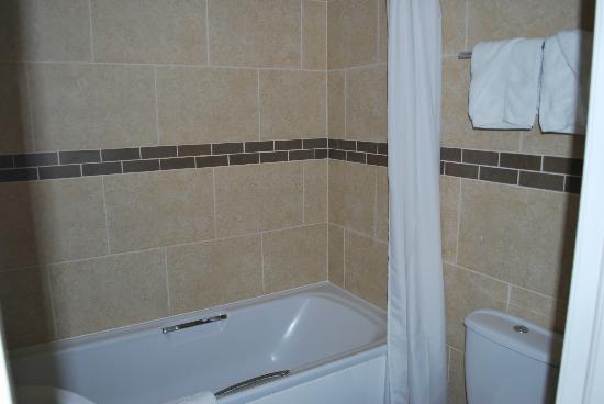 Ellan Vannin Metro Hotel: Bathroom in 12