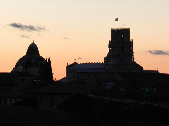 Hotel Di Stefano : Vista dalla camera (4 piano)