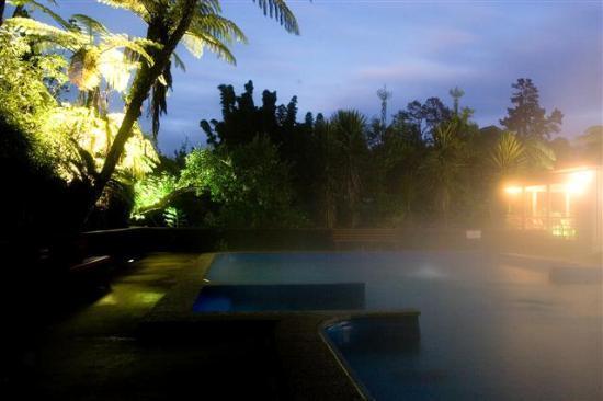 Fernland Spa : Dusk in the main pool