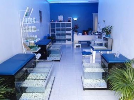 Fish spa boutique dr fish corralejo spain top tips for Fish spa near me