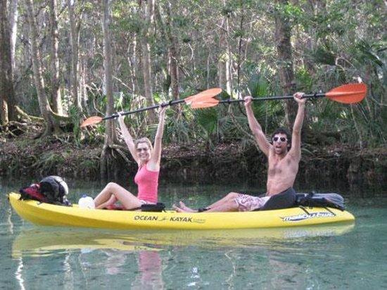 Florida Kayaking Foto