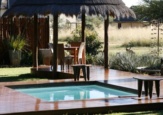 Botsebotse Luxury Retreat: The plunge pool
