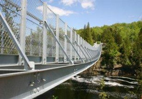 Ranney Gorge Suspension Bridge Foto