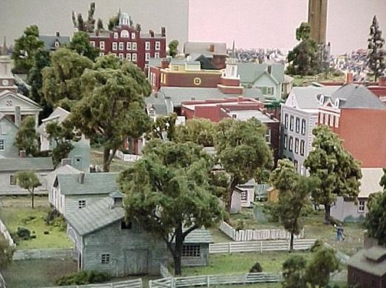 Gettysburg Diorama Foto