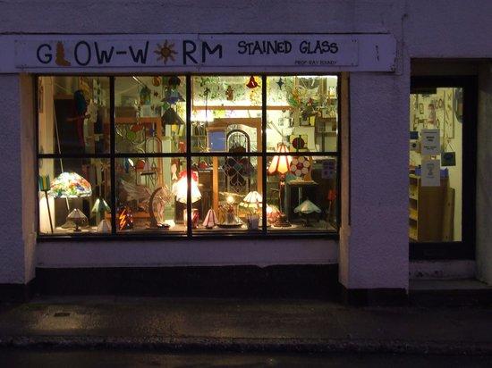 Glow-Worm Stained Glass