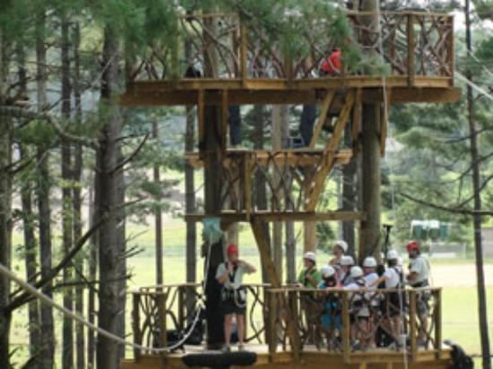 Harpers Ferry Zip Line Canopy Tour Picture