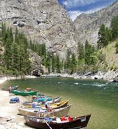 Helfrich River Outfitters, Inc. : Middle Fork Salmon River Idaho - Frank Church Wilderness - Drift Boats & Rafts - Helfrich