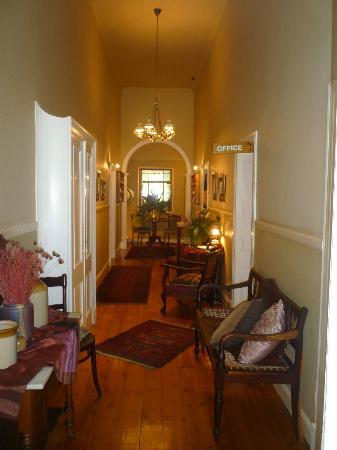 Adley House: Inside main house - hallway
