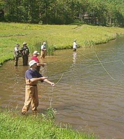Hunter Mountain Fly Fishing School Photo