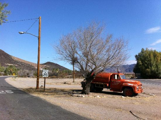 Shoshone Inn: old truck