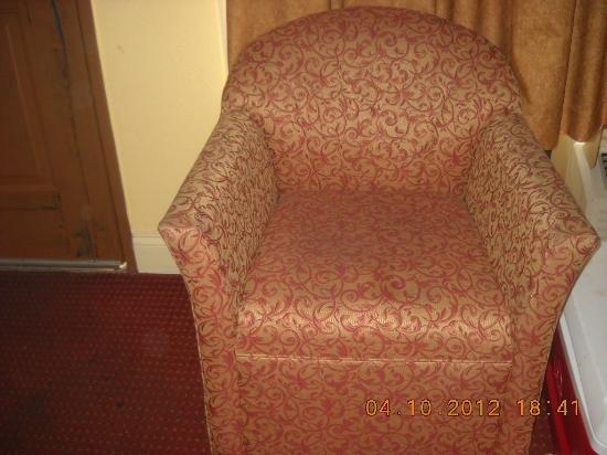 BEST WESTERN Historical Inn: Chair
