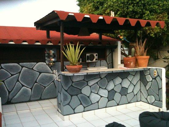 Posada Lagunita: terrazza........quanti aperitivi.........che ricordi!!!!!!!!!!!!!!1
