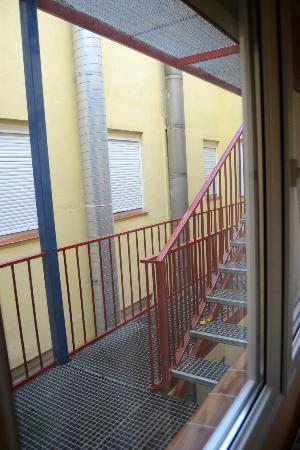 Hotel Paris Centro: ventana