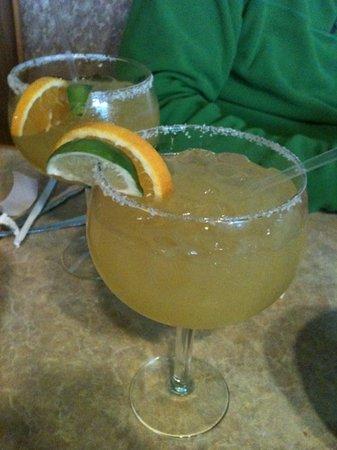 El Burrito Loco : The Ultimate Margarita with 1800 Tequila are super delicious!