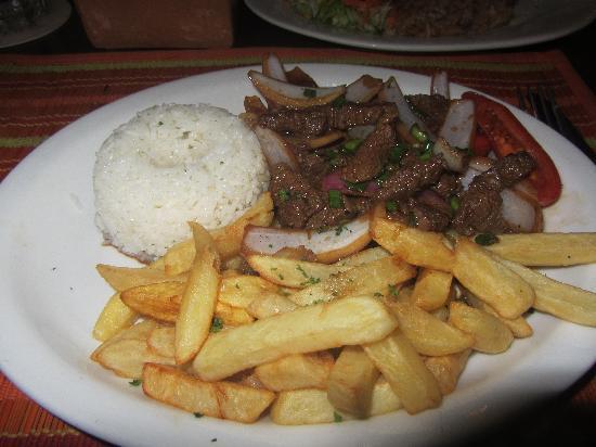 Plazita Limena: Beef Dinner