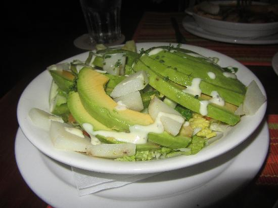 Plazita Limena: Avocado Salad