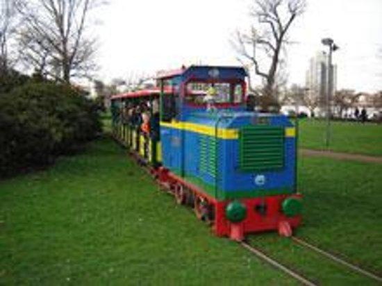 Kleinbahn im Rheinpark Photo