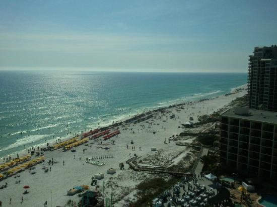 Hilton Sandestin Beach, Golf Resort & Spa: Beach view from balcony