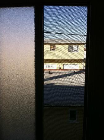Palm Motel: Blick aus dem Badfenster