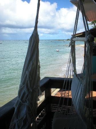 Pousada Farol das Estrelas: Balcon hamacas paraguayas