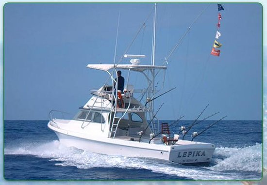 Another great trip on lepika with russ nitta review of for Kona sport fishing