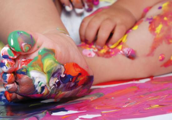 Mac Birmingham: Baby and Toddler Art Play