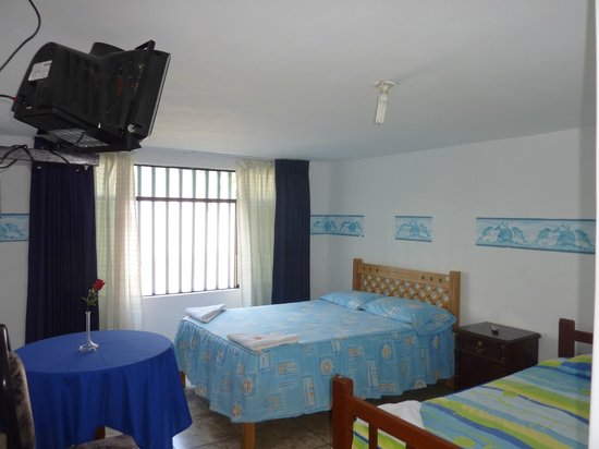 Hospedaje Oceano: One of the room
