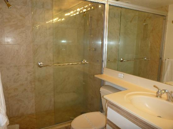 Punahoa Beach Apartments: shower