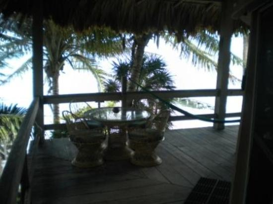 Xanadu Island Resort: View of the suite's deck