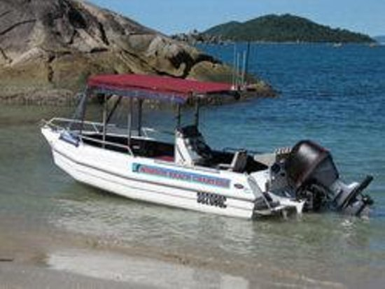 """Mission Beach Charters: our vessel """"Brahminy"""""""