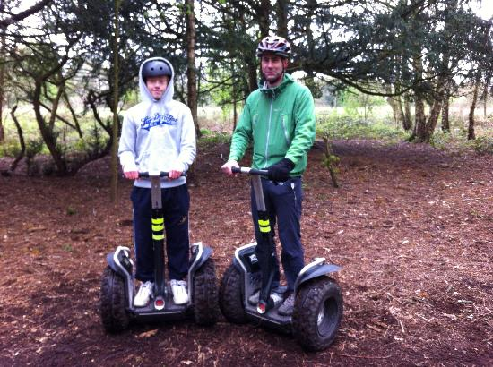 Exeter Segway Smiles Devon : We will be back