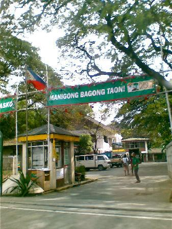 Quezon City, Filipinas: Entrance (North EDSA side)