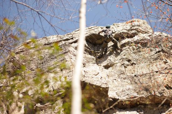 Minnewaska State Park Preserve: 5.7 challenge for K-man